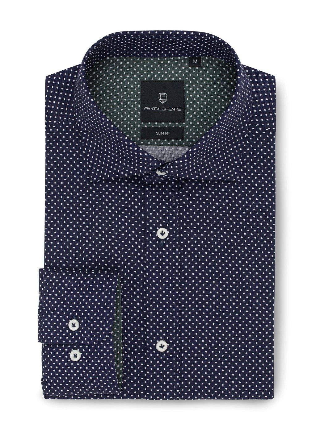 Koszula męska GAMBLER PLM-1X-326-G