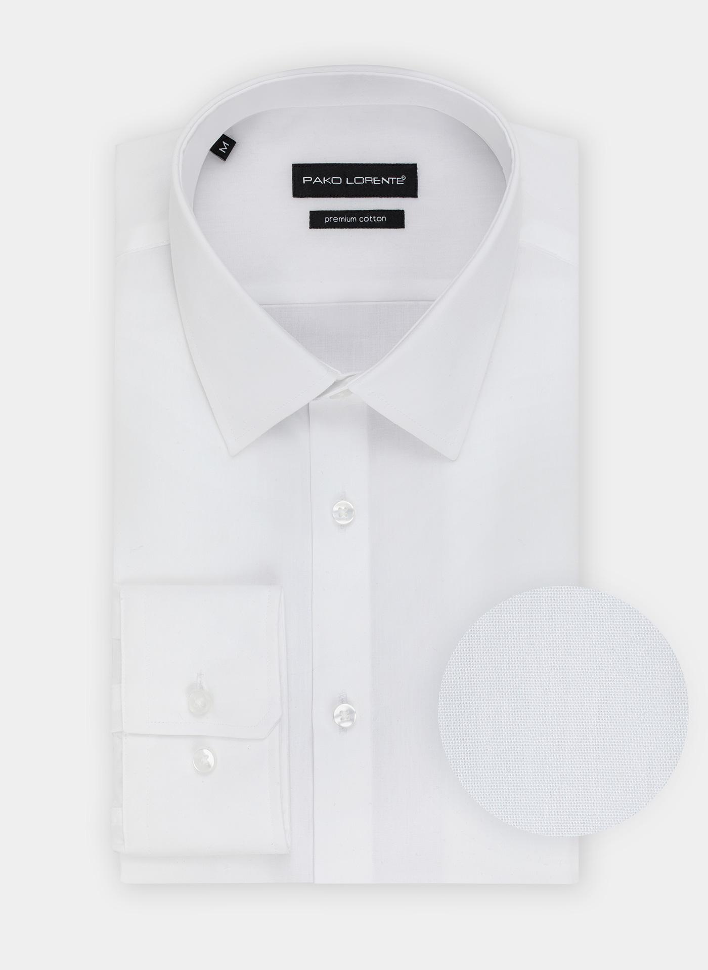 4a25a40e1bd12d Biała koszula 100% bawełny męska elegancka i biznesowa